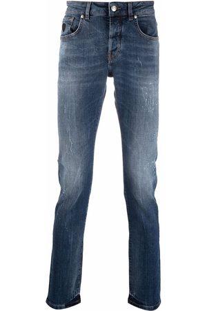 John Richmond Muži Slim - Logo-print slim-cut jeans