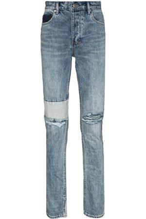 KSUBI Muži Slim - Chitch Retrograde Trashed slim-fit jeans