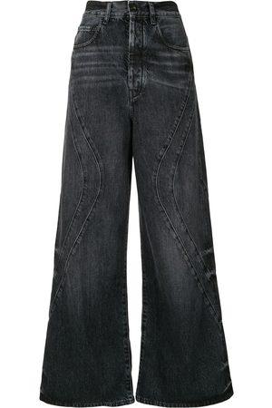 MARCELO BURLON County wide-leg jeans