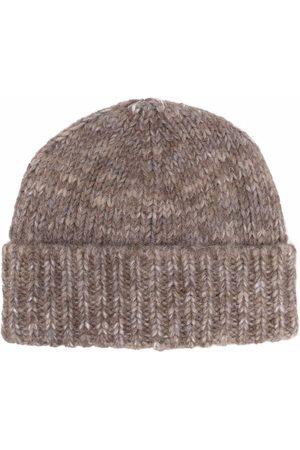 Maison Margiela Ribbed wool beanie hat
