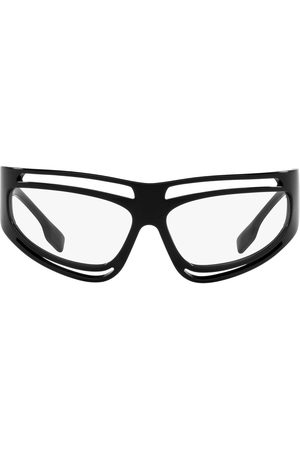 Burberry Eyewear Oversized band sunglasses