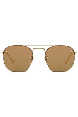 Saint Laurent Double-bridge sunglasses