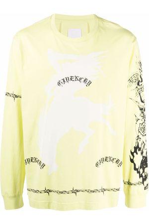 Givenchy Tattoo-print T-shirt