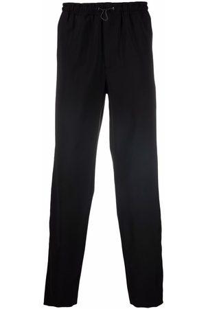 QASIMI Drawcord side-stripe trousers