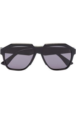 Bottega Veneta Geometric oversized-frame sunglasses