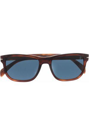 DB EYEWEAR BY DAVID BECKHAM Tortoiseshell square-frame sunglasses
