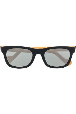 Moncler Two-tone square-frame sunglasses