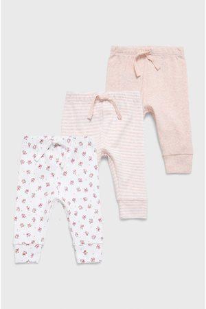 GAP Kojenecké kalhoty (3-pack)