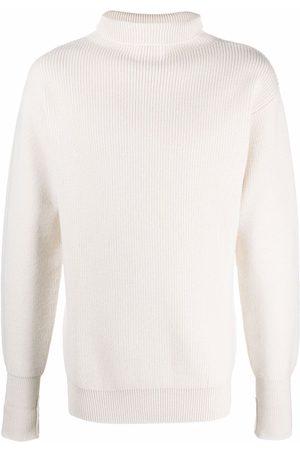Jil Sander Muži Ke krku - High-neck knitted jumper