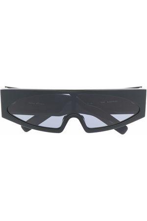 Rick Owens Sluneční brýle - Gene rectangle-frame sunglasses