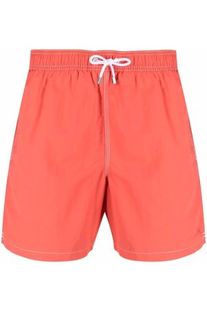Hackett Muži Šortky - Contrast-stitching swim shorts