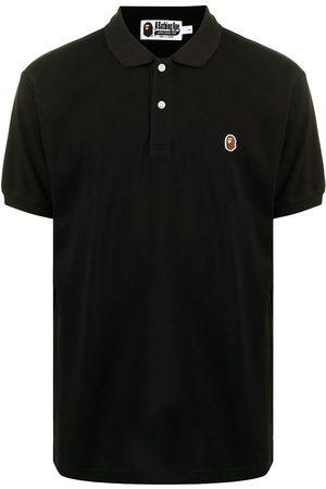A Bathing Ape Muži S krátkým rukávem - Logo-patch short-sleeved polo shirt