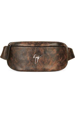 Giuseppe Zanotti Muži Ledvinky - Mirto leather belt bag