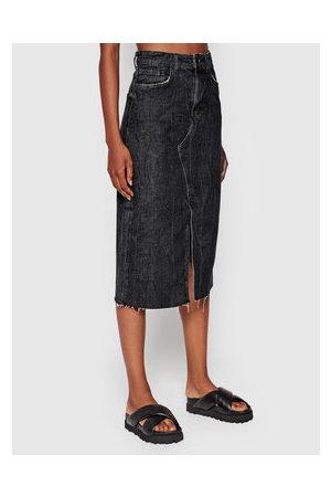 Guess Ženy Džínové sukně - Džínová sukně