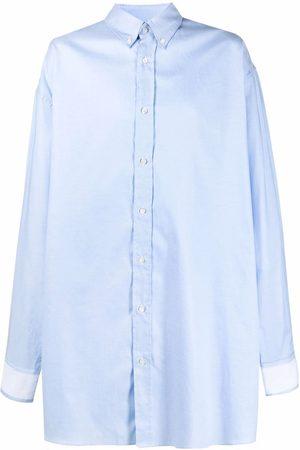 Maison Margiela Muži Volnočasové - Oversized cotton shirt
