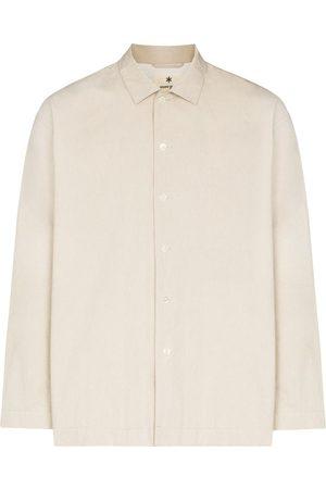 Snow Peak Muži Bundy - Bafu cotton shirt jacket