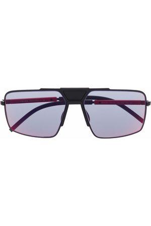 Prada Muži Sluneční brýle - Prada Linea Rossa square-frame sunglasses