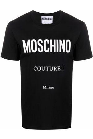 Moschino Couture logo-print T-shirt