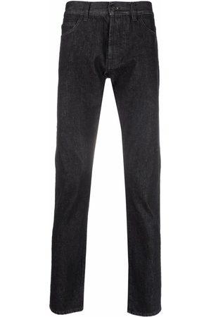MARCELO BURLON Muži Rovné nohavice - Straight-leg cotton jeans