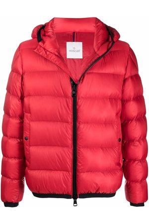 Moncler Muži Péřové bundy - Logo patch puffer jacket