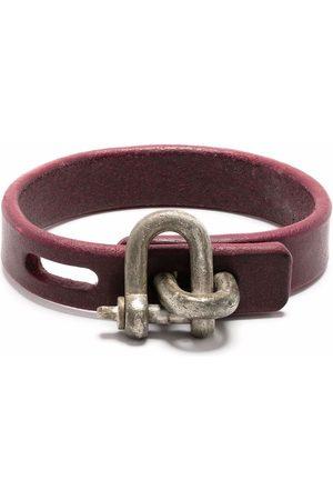 PARTS OF FOUR Restraint charm thin bracelet