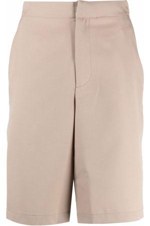 OAMC Straight-leg virgin wool shorts