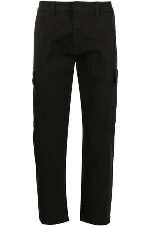 Iceberg Muži Společenské - Pressed-crease stretch-cotton tailored trousers