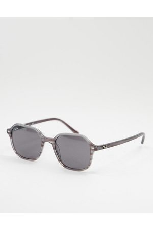 Ray-Ban Unisex john square sunglasses in grey 0RB2194