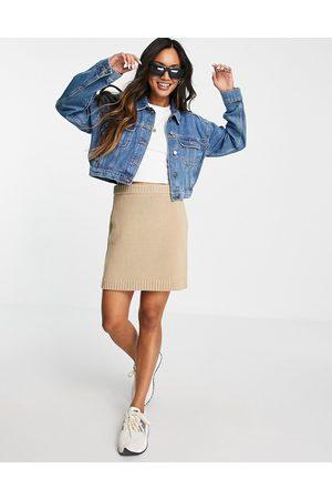 ASOS Original' denim jacket in midwash-Blue