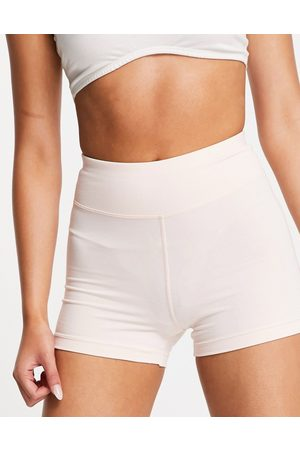ASOS Ženy Kraťasy - Icon booty short in cotton touch-Pink