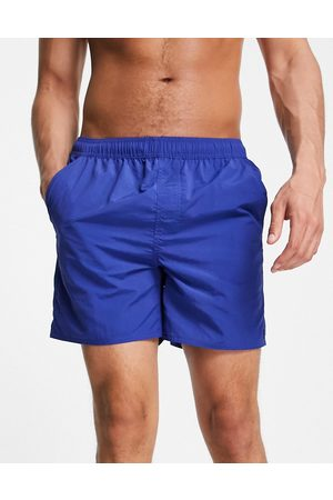 French Connection Tas contrast swim shorts in mazarine and marine-Multi