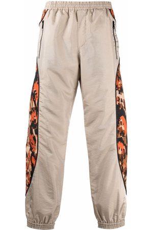Roberto Cavalli Contrasting-panel trousers