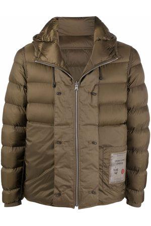 Ten Cate Logo-patch puffer jacket