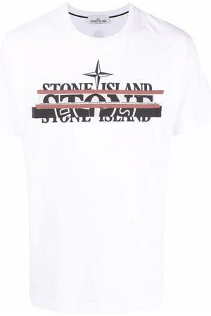 Stone Island Disjointed logo-print T-shirt