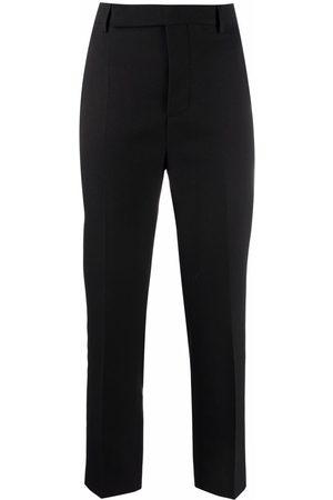 Rick Owens Slim-cut tailored trousers