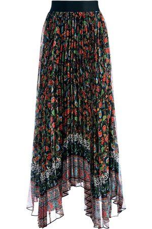 ALICE+OLIVIA Katz pleated maxi skirt