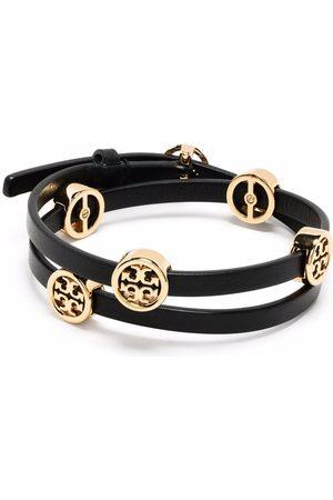 Tory Burch Miller double-wrap bracelet