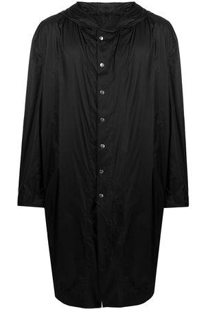 Rick Owens Hooded snap coat