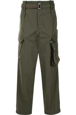 Sacai Belted cargo trousers