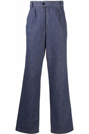 Maison Margiela Pleat-detail straight-leg trousers