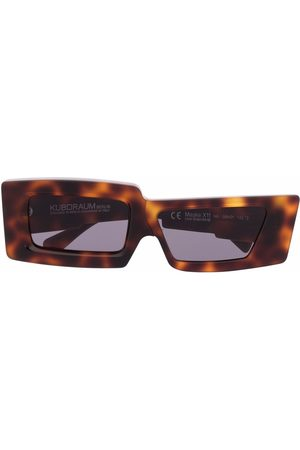 Kuboraum X11 rectangle-frame sunglasses