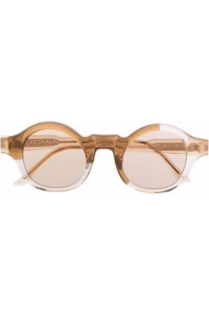 Kuboraum L4 round-frame sunglasses