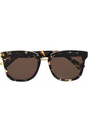 Bottega Veneta Eyewear Square-frame tortoiseshell sunglasses