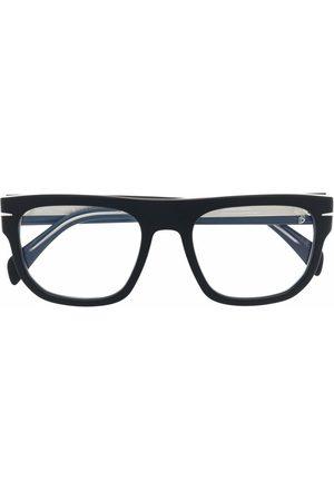 DB EYEWEAR BY DAVID BECKHAM Polished square-frame glasses