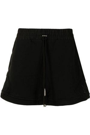 AMIRI Logo-patch toggle-fastening track shorts