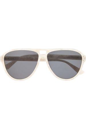 AMIRI Aviator-frame tinted sunglasses