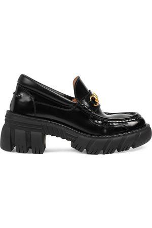 Gucci Ženy Nazouváky - Horsebit buckle platform loafers