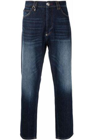 Philipp Plein Muži Rovné nohavice - Carrot Fit Iconic Plein straight-leg jeans