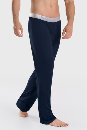 Blackspade Muži Tepláky na spaní - Modalové kalhoty Thalin