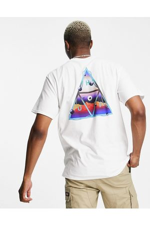 Huf Altered state back print t-shirt in white